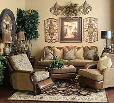 tuscan decor living room